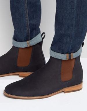 Bobbies Замшевые ботинки Le Marabout. Цвет: темно-синий