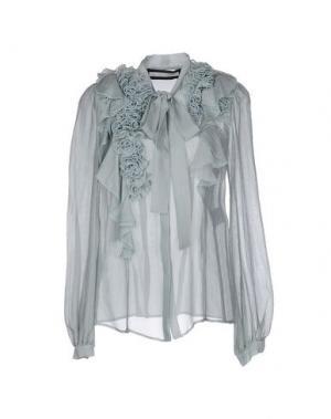 Pубашка AQUILANO-RIMONDI. Цвет: небесно-голубой