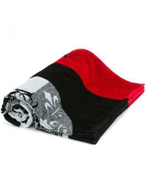 Полотенце с принтом символов Alexander McQueen. Цвет: многоцветный
