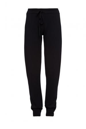 Спортивные брюки из шерсти 191547 Kangra Cashmere. Цвет: черный