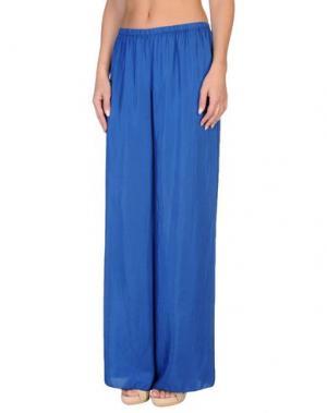 Пляжные брюки и шорты GRAZIA'LLIANI SOON. Цвет: ярко-синий