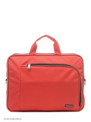 Сумка для ноутбука Cross Case. Цвет: красный