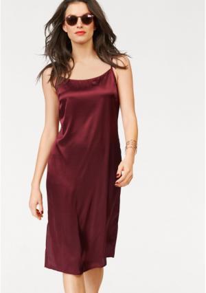 Платье Aniston. Цвет: вишневый
