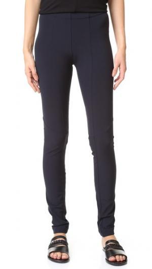 Одношовные брюки Zero + Maria Cornejo. Цвет: чернильный