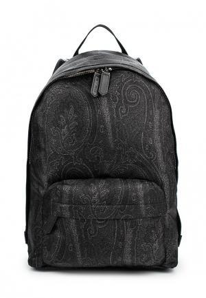 Рюкзак Etro. Цвет: черный