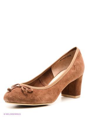 Туфли Laura Valorosa. Цвет: коричневый