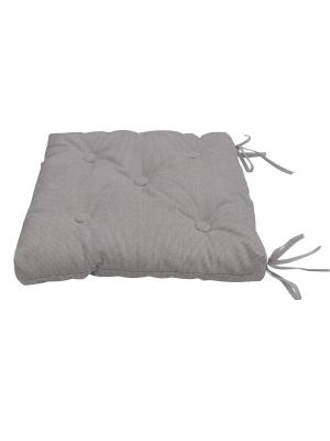 Подушка на стул Нosta, 40х40 см Kauffort. Цвет: серый