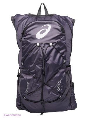 Рюкзак LIGHTWEIGHT RUNNING BACKPACK ASICS. Цвет: фиолетовый, серый, черный