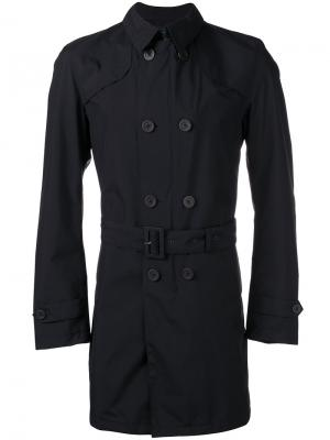 Slim-fit trench coat Herno. Цвет: синий