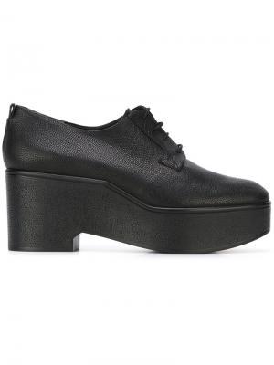Туфли на платформе Xonca Robert Clergerie. Цвет: чёрный