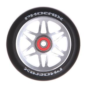 Колесо для самоката  F6 Alloy Core Wheel 110mm With Abec 9 Bearings Grey/Black Phoenix. Цвет: черный,серый