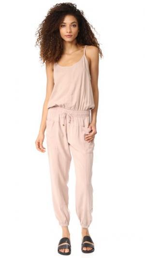 Комбинезон YFB Clothing Iver Young Fabulous & Broke. Цвет: песочно-розовый
