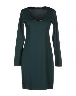 Короткое платье NELL&ME. Цвет: зеленый