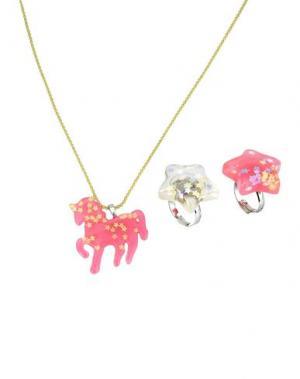 Ожерелье POP CUTIE. Цвет: розовый