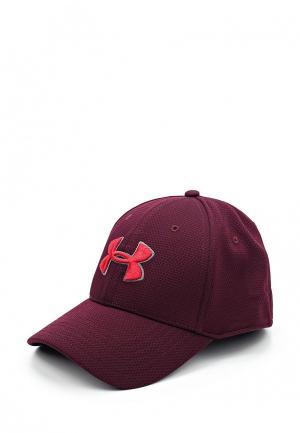 Бейсболка Under Armour. Цвет: бордовый