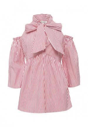 Блуза Miss by Valentina. Цвет: красный