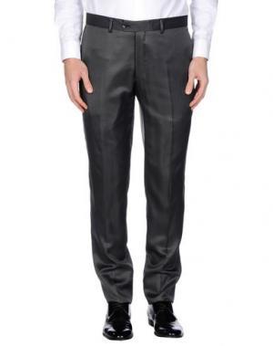 Повседневные брюки MAESTRAMI CERIMONIA. Цвет: стальной серый