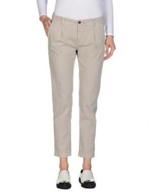 Повседневные брюки SIVIGLIA WHITE. Цвет: серый