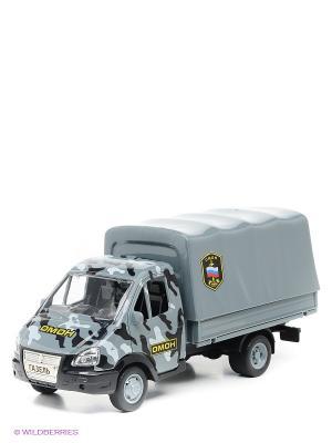 Машина Газель Joy Toy. Цвет: серый