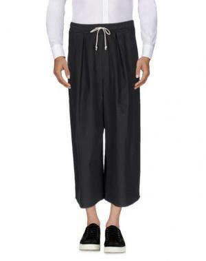 Повседневные брюки C.Y.H. CLAP YOUR HAND. Цвет: свинцово-серый