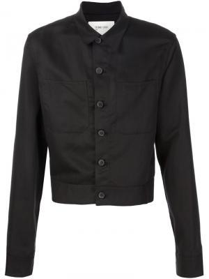 Укороченная куртка Second/Layer. Цвет: чёрный