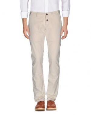 Повседневные брюки KARL LAGERFELD. Цвет: бежевый