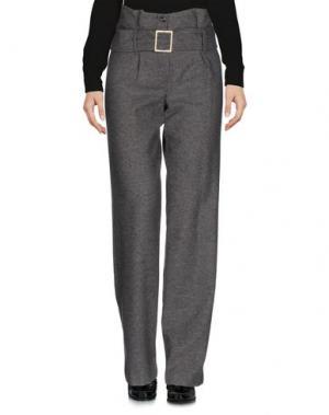 Повседневные брюки PAOLO CASALINI. Цвет: серый