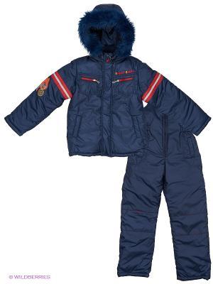 Комплект одежды Милашка Сьюзи. Цвет: темно-синий