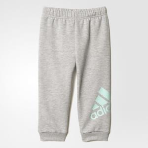 Трикотажные брюки спорт  Performance adidas. Цвет: зеленый