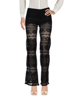 Повседневные брюки TEMPTATION. Цвет: черный