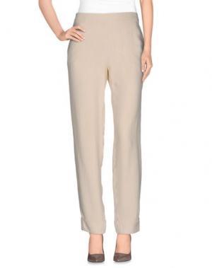 Повседневные брюки THE ROW. Цвет: песочный