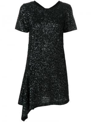 Платье с пайетками Racine Deluxe Zadig & Voltaire. Цвет: чёрный