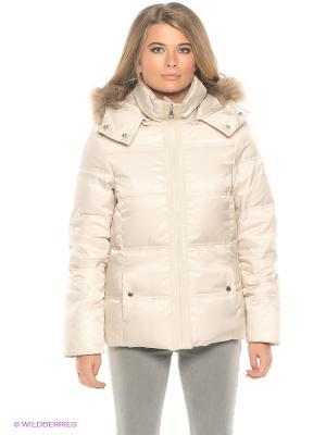 Куртка RedSkins. Цвет: бежевый