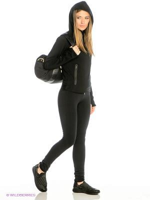 Леггинсы W NSW PANT CF JRSY Nike. Цвет: черный