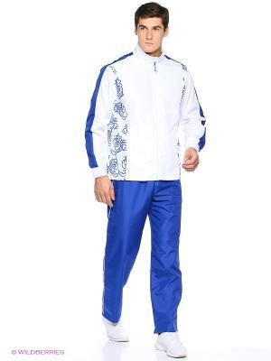 Костюм спортивный Runika. Цвет: синий