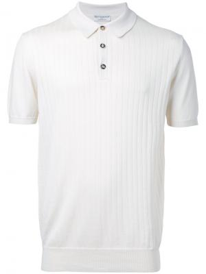 Ribbed polo shirt Éditions M.R. Цвет: белый