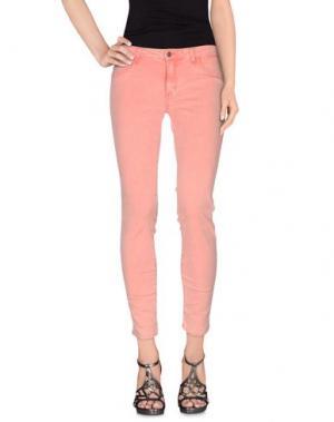 Джинсовые брюки SIWY. Цвет: лососево-розовый