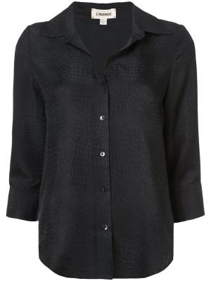 Фактурная рубашка  Lagence L'agence. Цвет: чёрный