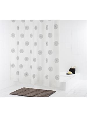 Штора для ванных комнат Ali Baba белый 180Х200 RIDDER. Цвет: черный, белый
