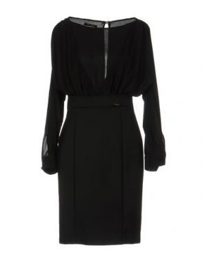 Короткое платье TRY ME. Цвет: черный