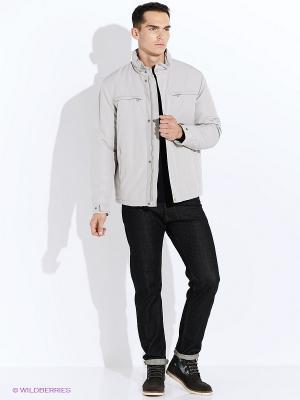 Куртка GEOX. Цвет: светло-серый