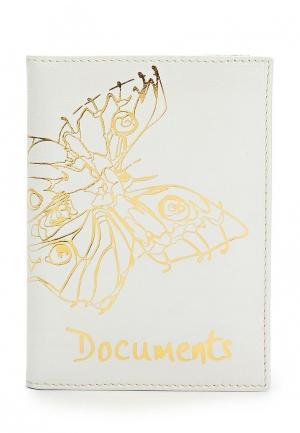 Обложка для документов Franchesco Mariscotti. Цвет: белый