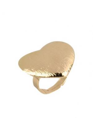 Кольцо DETTAGLI. Цвет: золотистый