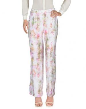 Повседневные брюки LAVAND.. Цвет: светло-розовый