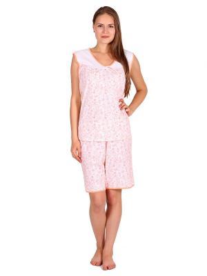 Пижама Startale. Цвет: оранжевый, белый