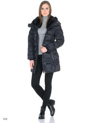 Пальто OSTRICH. Цвет: темно-синий