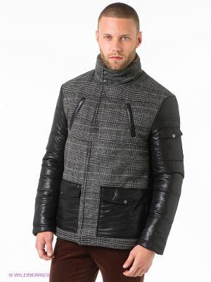 Куртка Urban fashion for men. Цвет: черный, серый