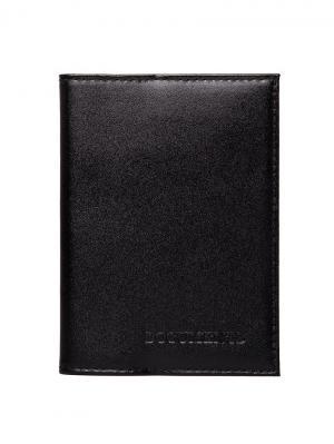 Бумажник водителя Forte. Цвет: черный