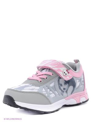 Кроссовки Kakadu. Цвет: серый, розовый