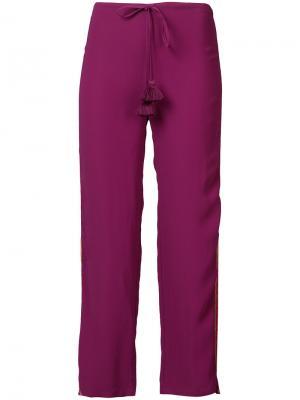 Брюки Goa Figue. Цвет: розовый и фиолетовый